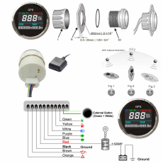 52mm-GPS-Speedometer-Waterproof-Digital-Speed-Gaug